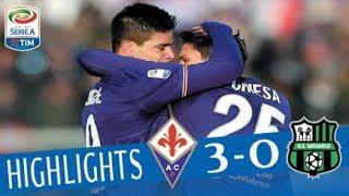 Fiorentina - Sassuolo 3-0 - Highlights - Giornata 15 - Serie A TIM 2017/18