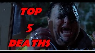 Top 5 Most Brutal Deaths in the Jurassic Park Movies