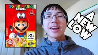 NOT PROUD OF WHAT I DID FOR SUPER MARIO CEREAL