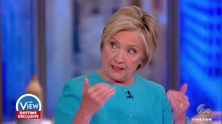 Hillary Clinton on Russia Probe, Criticism Of Marriage, Debate Night | The View