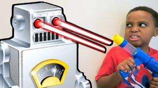 Robot vs Shiloh And Shasha - Onyx Kids