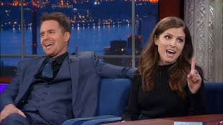 Anna Kendrick and Sam Rockwell Had To Make Out Vigorously