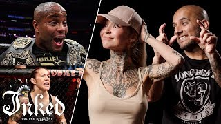 Tattoo Artists React To UFC Fighter
