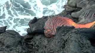 spectacle fantastique à Hawai