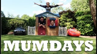 Building a playhouse with Tom and Mario | MUMDAYS
