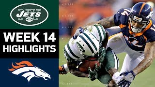 Jets vs. Broncos | NFL Week 14 Game Highlights