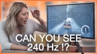 144Hz vs 240Hz - Can you see the difference? ft. ASUS PG258Q Gaming Monitor