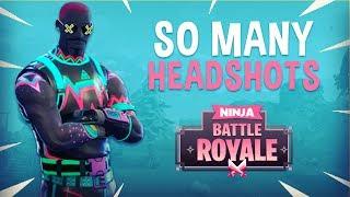 So Many Headshots!! - Fortnite Battle Royale Gameplay - Ninja