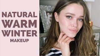 Natural Warm Winter Makeup Look | 2018