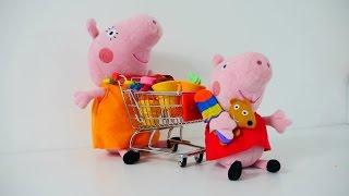 Spielspaß mit Peppa Wutz und ihren Freunden - Wir gehen Einkaufen