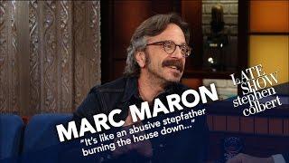 Marc Maron Had Obama Over... In His Garage