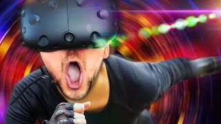 BEST VR PARKOUR | Sprint Vector (HTC Vive Virtual Reality Wireless)