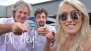 James May & Richard Hammond with Supercar Blondie