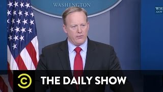 100 Days of Sean Spicer Counting to 100: The Daily Show