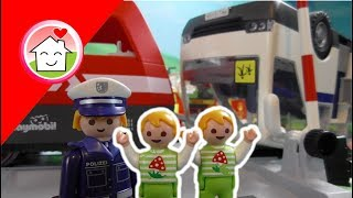 Playmobil Film deutsch Das Zugunglück / Kinderfilm / Kinderserie von family stories