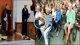 شاهد رد فعل مئات المسيحيين عند قراءة مغربى للقرأن داخل الكنيسة