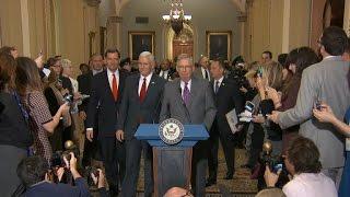 GOP senators fast-track repeal of Obamacare