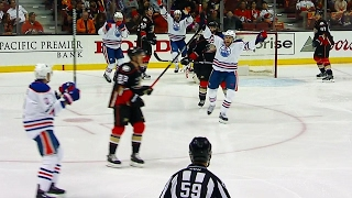 Sekera fires in early goal past Gibson