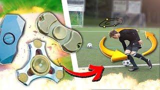 FIDGET SPINNER FUßBALL CHALLENGE