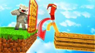 Diese FALLE funktioniert bei so VIELEN SPIELERN😂!... Minecraft LUCKY BLOCK BATTLE BEDWARS