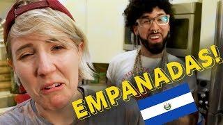My Drunk Kitchen: Empanadas de Plátano  ft. Buzzfeed Curly!