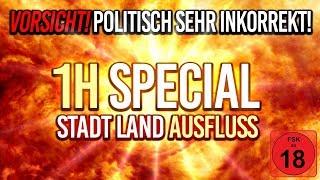 1H SPECIAL: Bauchmuskeltraining durch LACHFLASH! 💀 HWSQ #032 ★ STADT LAND FLUSS
