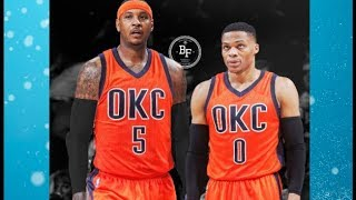 Carmelo Anthony TRADED TO OKC THUNDER! MVP Russell Westbrook To Team With Paul George & Melo