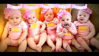 First All-Girl Quintuplets Appear on