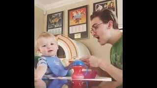 Buzz Fletcher singing (1 year old baby)