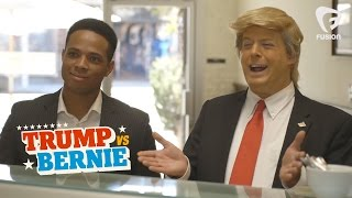Donald Trump Ice Cream  • Trump vs Bernie