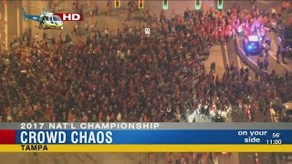 Lines to enter National Championship game