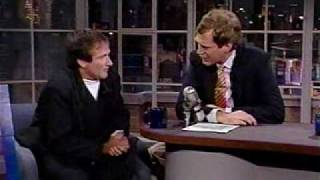 Robin Williams on Letterman talking about Oprah