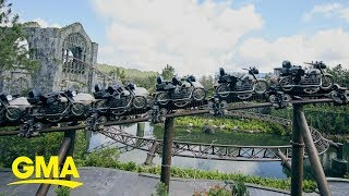 Universal Orlando's Harry Potter ride to feature a free-fall vertical drop