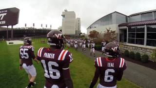 VT Player Tunnel Entrance vs Pitt  2013