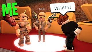 DISGUISING AS THE COLLECTOR! (Roblox Jailbreak)