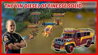 Finesse Lex is the Vin Diesel of Finesse Solid! - Mobile Legends