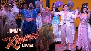 Guillermo in Aladdin on Broadway