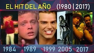 La Canción Más Exitosa De Cada Año (1980 - 2017)