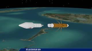Atlas V NROL-52 Mission Profile