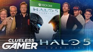 "Clueless Gamer: ""Halo 5: Guardians"": Team Silicon Valley vs. Team Coco - CONAN on TBS"