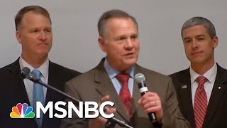 Roy Moore Speaks To Supporters But Fails To Concede | The 11th Hour | MSNBC