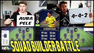 AUBAMEYANG Real Madrid TRANSFER Squad Builder Battle vs. WAKEZ! 🔥🔥 Fifa 18 Ultimate Team Deutsch