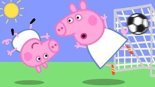Peppa Pig English Episodes | Sports with Peppa Pig! ⚽️ | Cartoons for Children