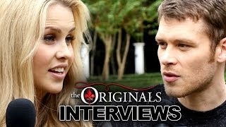 "Joseph Morgan & Claire Holt Tease ""The Originals"