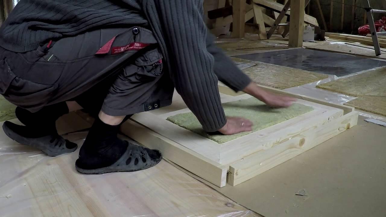 Изготовление уличных деревянных дверей своими руками