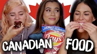 Trying Canadian Snacks w/ ADELAINE MORIN (Cheat Day)