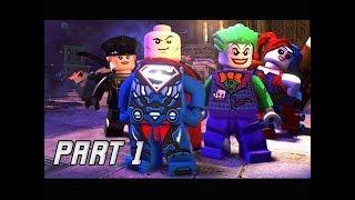 LEGO DC SUPER VILLIANS Walkthrough Gameplay Part 1 - Joker & Lex Luthor