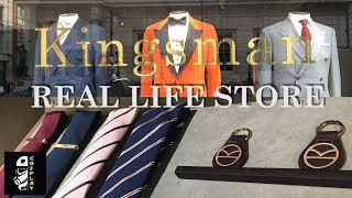 The Real Kingsman Store in London!
