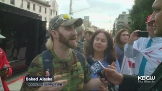 Trump Supporters Arrive In Berkeley Before Expected Protest