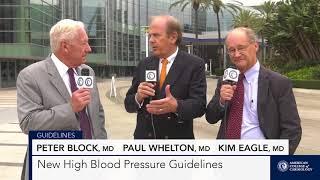 AHA 2017 | New High Blood Pressure Guidelines